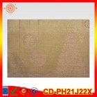 kitchen placemats PVC woven dinning table mat pvc woven mesh placemats plastic table protection mat