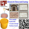 silicone molds for concrete RoHS Artificial Stone silicone mould casting