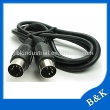 Saudi Arabia market pc usb midi 5pin din cable for super market