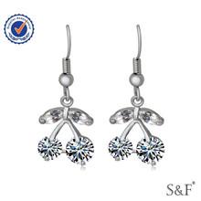 0325 india zircon dangle earrings