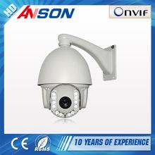 Max. 25/30fps 1.3M(1280*960) & 960p resolution IP66 waterproof Vandal proof PTZ ip camera