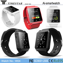 2014 latest wrist watch mobile phone, Answer/dial calls, alarm, MP3 android smartwatch phone, bluetooth smart watch phone, W04
