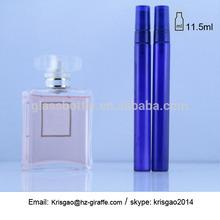 SM12-16110 12ml blue perfume bottle spray glass bottle with plastic cap
