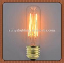 Retro Antique Globe Light Bulb E27/E26/B22 6 light murano chandelier CE ROHS