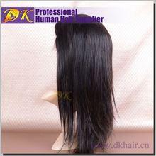 DK Wholesale Supplier Brazilian Hair Wig Lace Front Half Wigs