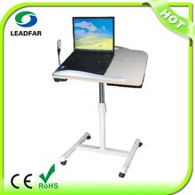 NBT82 Corner Computer Desk With Light Fan And Universal Wheel