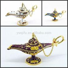 Custom favor fashion high quality new prodduct aladdin lamp gift box(QF4077)
