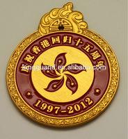 Antique Custom made logo military metal badge