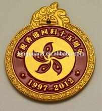 Antique Custom made logo insigne métallique militaire