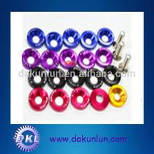 colored aluminum fender washer type of lock washer