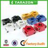 CNC billet handlebar riser clamp for ATV 4-wheeler