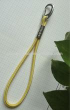 Fashion Zinc Alloy quick link carabiner, flat metal hanging hook, non-locking carabiner