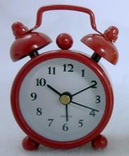 mini metal twin bell alarm clocks / retro table alarm clock CE ROHS