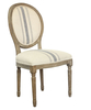French Provincial Furniture,French Style Dining Chair,Comfortable Wood Chair RQ20391C