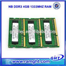 Branded export surplus ddr3 4gb PC-10600 ram