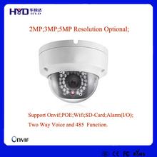 Full HD IR 25M Low Illumination Indoor IP Camera SD Card