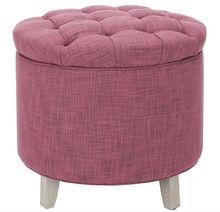Hot Sale Corian Furniture,Lid Top Ottoman,Tufted Ottoman
