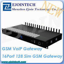 2014 New Arrival Ejoin GoIP 16-128 gateway, 16 channel 128 sim Gsm VoIP Gateway mini mifi gateway 3g wireless router
