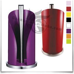Colorful powder coating metal napkin holder