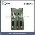 3 ampolla piezas de herramientas de jardín conjunto de herramientas mini conjunto