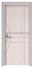 CE ISO SONCAP certificate pvc door frame for pvc wooden door with aluminium handle