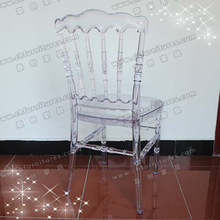 Hotel furniture and antique appearance plexi napoleon chair YC-A61