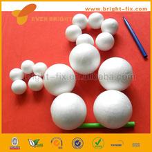 white styrofoam/polystyrene/polyfoam half round ball