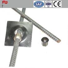 dia 32 Thread Steel Bar Prestressing concrete PSB thread screw steel bars and rebar and accessories for coal mine