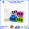 Three 3 usb car charger power adapter mobile phone charger