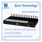 2014 New Arrival Ejoin GoIP 16-128 gateway, 16 channel 128 sim Gsm VoIP Gateway 8 port fxo fxs card asterisk elastix voip ip pbx