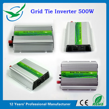 200W-1000W pure sine wave dc ac micro grid tie inverter with 15-60vdc wide input