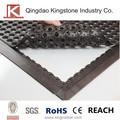 anti deslizamiento de enclavamiento contra la fatiga de la alfombra de goma