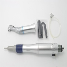 dental slow low speed handpiece kit air motor contra angle straight handpiece