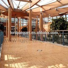 0.12 inch top veneer Herringbone engineered wood floor