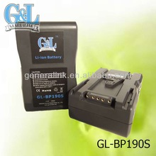 GL-BP190S batteries lithium ion the lithium battery v mount