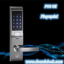 Elegant design waterproof fingerprint door lock