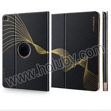 TOTU Design Leather Case for iPad Mini iPad Air, Golden Series Smart Wake Sleep Function Flip Stand Leather for iPad Mini Case