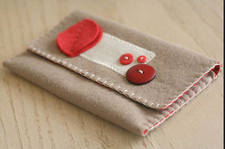 alibaba supplier 2015 hot sale high quality new products eco friendly handmade bag felt thin wallet made in china