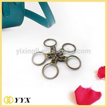 bronze ring design decorative personalized zipper pulls