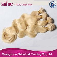 supply to foreign length /dream bella hair famous brand blonde virgin hair