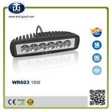 DC10-30V 18w cree led driving light,led daytime running light bar