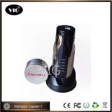 Fashionable King Dry Herb Wax Atomizer Ecig Captain 1 hot sale