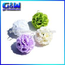 Silk Rose Wedding Flower Hanging Ball Decorations Floral Supplies