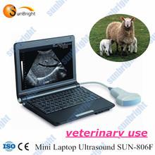 full digital hot mini laptop/portable veterinary Ultrasound scanner machine model