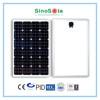 80w solar panel monocrystalline with TUV/IEC61215/IEC61730/CEC/CE/PID