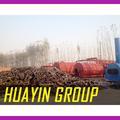 zéro pollution des déchets de recyclage de pneus et usine de pyrolyse fabriqués en chine