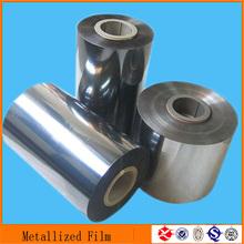 good quality folding box packaging transparent metallized pet film