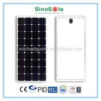 new mono and poly -old customer test free 100 watt folding solar panel
