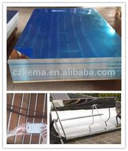 "1"" thick plastic coated aluminum sheet"