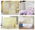 Hongyun 2014 de la alta calidad , amarillo , blanco bule green100 % poliéster de ventanas de aluminio con mosquitera en China venta al por mayor